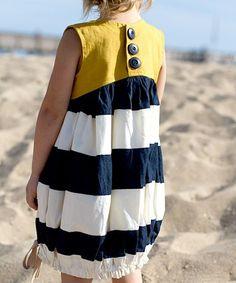 Sunshine Dress sewing pattern for girls