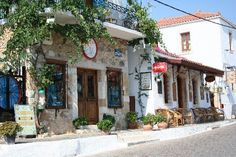 Village in Greece- I want to be here..