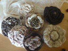 My Works, Napkin Rings, Stuffed Mushrooms, Napkins, Vegetables, Flowers, Food, Home Decor, Stuff Mushrooms