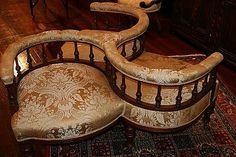 A Victorian walnut conversation… - The Kensington Fine Interiors Sale - Lawsons - Antiques Reporter