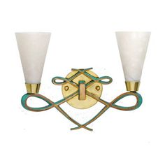 Modern Art Deco Regency Style Sconce in the Style of Jules Leleu. Cast in Bronze with Brass Shade Holders. Light Shades Hand-Fabricated using Imported Spanish Alabaster. Art Deco Wall Lights, Vintage Wall Lights, Modern Wall Lights, Candle Wall Sconces, Wall Sconce Lighting, Hollywood Regency, Art Nouveau, Modern Art Deco, Crystal Wall
