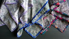 Edged Liberty Scarves   The Purl Bee