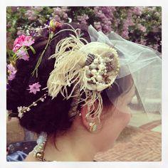 Beautiful hair for a beautiful Bride