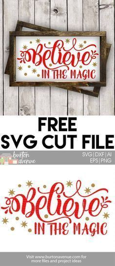 Free SVG Files for Silhouette and Cricut