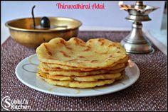 Thiruvathirai Adai | Subbus Kitchen