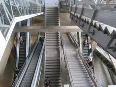 A la gare de Montparnasse. Vous avez le choix!