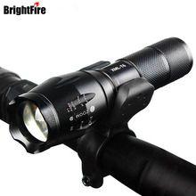 US $7.89 Professional Waterproof CREE XM-L T6 3800LM Bicycle Light Torch Zoomable LED Flashlight Bike Light With Torch Holder. Aliexpress product