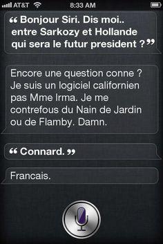 Siri, qui sera président ?