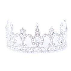FF Women Wedding Crown Rhinestone Tiara for Pageant Silve... https://www.amazon.com/dp/B06XNPFSN7/ref=cm_sw_r_pi_dp_x_JF9ZybMWRTK6R