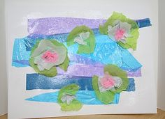 Our Nest of 3: Monet: Water Lilies Art Project