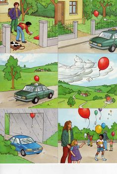 write the story of a balloon, where did it go, what did it see, who did it meet? (Not original post)