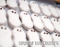 Easy ghost cookies