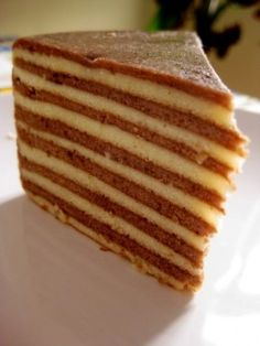 BIRTHDAY: NEW YEAR: Spekkoek: An Old fashioned Indonesian-Dutch Layer Cake Secret Recipe