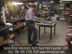 "Sierra Victor Industries: 1.5"" - 3"" HUTH® Mitey Mate Jr Portable Air-Powered Expander - MADE IN USA! MODEL 1685S. For more information or to order, CALL 386-304-3720, VISIT http://sierravictor.com/index.php?dispatch=products.view&product_id=3845"