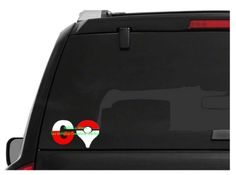 Pokemon Go Car Decal High Quality Outdoor Vinyl - Whimsical Embroidery Designs