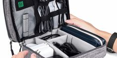 HQReview - High Quality Review You Can Trust Cable Organizer, Layers Design, Waterproof Fabric, Bag Organization, Sd Card, Other Accessories, Bag Storage, Trust, Electronics