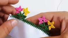 Expressive Two Leaves Two Flowers Crochet Lace – # Expressive # Flowers # Two … – Embroidery Desing Ideas Pineapple Embroidery, Floral Embroidery, Embroidery Stitches, Embroidery Patterns, Hand Embroidery, Embroidery Sampler, Cross Stitch Christmas Ornaments, Xmas Cross Stitch, Viking Tattoo Design
