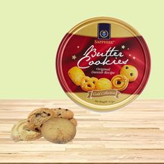 Send your wishes to your adorable sister on this auspicious occasion of #RakshaBandhan  with yummy Sapphire chocochip butter cookies.  Choose your box for gold or silver box and get 10% off on all #rakhi products only at #BringHomeFestival