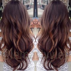 a lil bit of natural balayage for starters