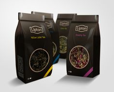 Lipton Redesign by Kamil Napora, via Behance