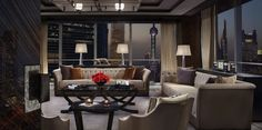 View full picture gallery of Four Seasons Hotel Pudong Public Hotel, Interior Architecture, Interior Design, Executive Suites, Lobby Lounge, Private Dining Room, Hotel Interiors, Four Seasons Hotel, Living Room