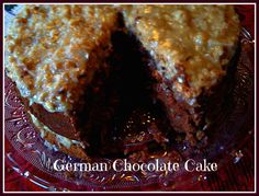 Sweet Tea and Cornbread: German Chocolate Cake! Made this cake last night, instructions were perfect and the cake is delicious!!!