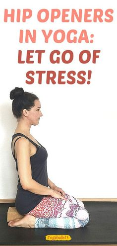 Hip openers are some of the most popular yin yoga poses, because they help you release stress while also increasing your flexibility. Try these hip openers for yoga beginners! Yoga Meditation, Yoga Flow, How To Start Yoga, Learn Yoga, Yoga Beginners, Coping With Stress, Stress And Anxiety, Stress Yoga, Yoga Inspiration