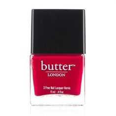 Butter London - Neglelak - Blowing Raspberries Free Products, Butter London, Raspberries, Cruelty Free, Perfume Bottles, Raspberry, Perfume Bottle