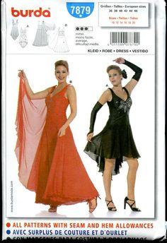 Diy Sewing PatternBurda 7879Dancing CostumeLong by ErikasChiquis, $9.00