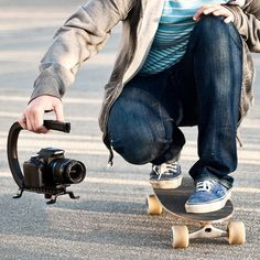 Cam Caddie Video Stabilizer - Want it? Own it? Add it to your profile on unioncy.com #gadgets #tech #electronics