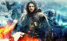 Game of Thrones Season 7 Jon Snow Daenerys Targaryen Kit Harington Emilia Clarke TV Series Jaime Lannister, Cersei Lannister, Margaery Tyrell, Daenerys Targaryen, Sansa Stark, Eddard Stark, Bran Stark, John Snow, Game Of Thrones Poster