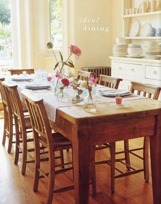 farmhouse table by Terry Brooke