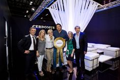 "Cerdomus won the ""Overall Best in Show"" award at Coverings 2012, Orlando, FL - proud to be there !"