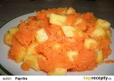 Mrkvovo-ananasový salát recept - TopRecepty.cz