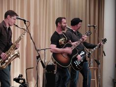 August 15th, 2014 My Silent Bravery with Brian (on sax) & Kurt  at Mechanics Hall.