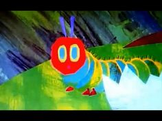 Wonderful animation of The Very Hungry Caterpillar by Eric Carle