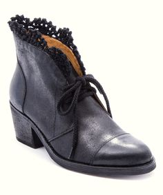 Loving this Black Leather Kat Boot on #zulily! #zulilyfinds