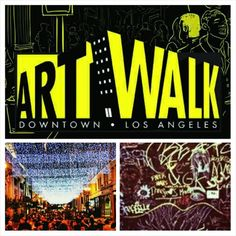 Join the Los Angeles art walk every second Thursday of the month.  Support local artists, view exotic galleries and enjoy good food and music.