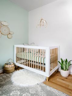 Gender neutral nursery- stunning nursery with all sources and details