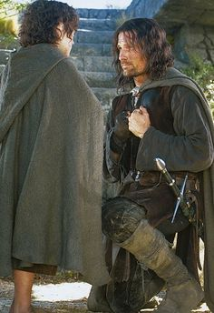 """""""If by my life or death I can protect you, I will. You have my sword."""" True friendship. <3"""