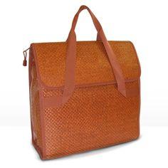 FastRider Shopper De Luxe Rear Pannier Bag Brown