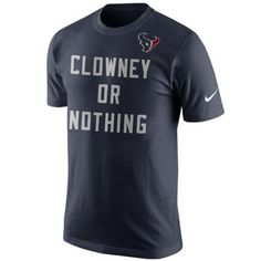Jadeveon Clowney Houston Texans Nike Player or Nothing T-Shirt - Navy Blue
