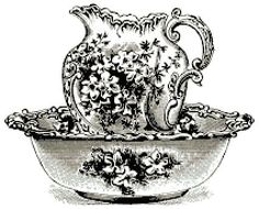Harrods Floral  Basin I actually made one of these in ceramics when I was about 20 loved it loved it loved it