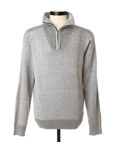 Ripped Mock Neck Sweater   PROJEK RAW