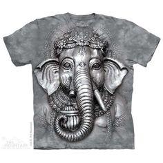 The Mountain Big Face Ganesh T-Shirt