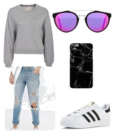 """""""Untitled #29"""" by jessmarino47 on Polyvore featuring Abercrombie & Fitch, Filippa K, adidas and RetroSuperFuture"""