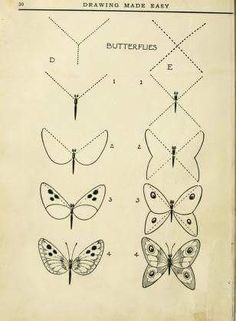 butterfly drawing easy step by step . butterfly drawing black and white 3d Drawings, Doodle Drawings, Doodle Art, Animal Drawings, Drawing Sketches, Pencil Drawings, Sketching, Hipster Drawings, Drawing Lessons