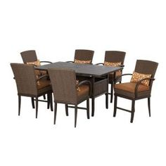 Salem 7-Piece High Dining Patio Set-2-12-921-DST7 at The Home Depot