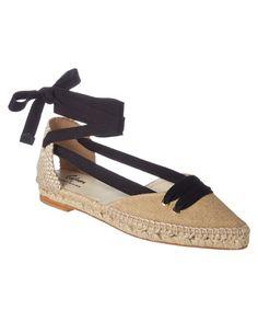 MANOLO BLAHNIK | Manolo Blahnik X Castaner Lace-Up Espadrille #Shoes #Flats #MANOLO BLAHNIK