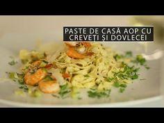 [Video] Paste de casă AOP cu creveți și dovlecei   Cavaleria Paste, Risotto, Chicken, Meat, Ethnic Recipes, Food, Essen, Meals, Yemek